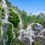 काफलडाँडा स्थित तीनधारा झरनाले स्थानीय बासिको मुहारमा ल्याएको खुशी